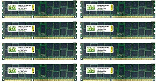 128GB 8X16GB NEMIX RAM Memory for Apple Mac Pro 2010 & 2012