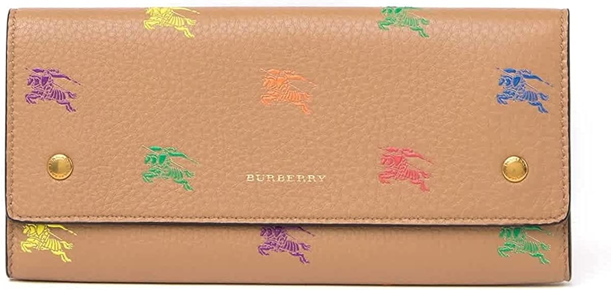 Burberry Light Camel Ladies Hollee Leather Wallet