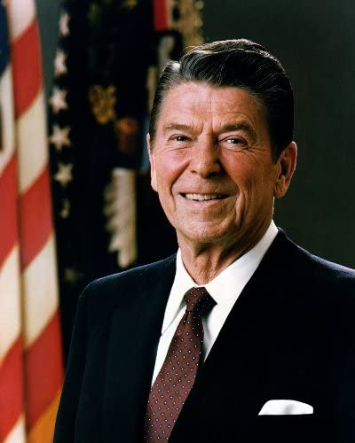 Official Portrait of President Reagan 1981 Photo Great Americans Photos 8x10 product image