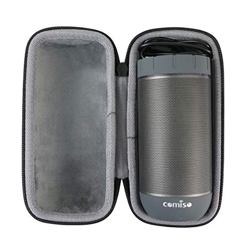 co2crea Hard Travel Case for COMISO Waterproof Bluetooth Speakers Outdoor Wireless Portable Speaker (Doesnt for 25W X26L COMISO Speaker) (Black Case)