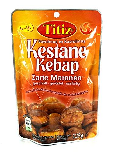 Titiz Maronen geschält u. geröstet (Kestane Kebap), 125g