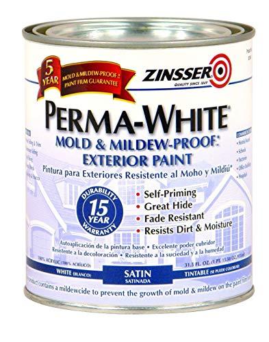 RUST-OLEUM Zinsser PermaWhite Exterior Paint