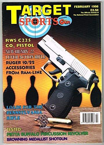 Target Sports Magazine February 1998 MBox109 RWS C225 CO2 Pistol