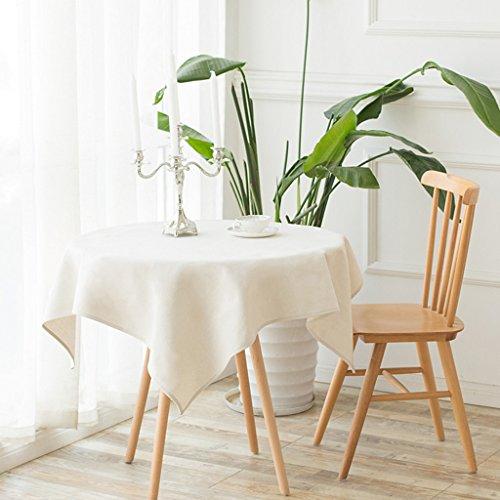Europese tafelkleed wit tafelkleed Europese moderne westerse tafel katoen en linnen stofdichte doek koffietafel Hot Cover doek