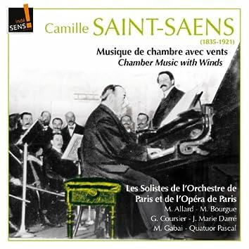 Saint-Saens: Musique de chambre avec vents (Saint-Saens: Chamber Music With Winds)