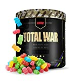Redcon1 Total War - Pre Workout, 30 Servings, (Sour Gummy) Boost...
