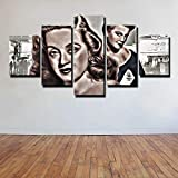 YUANJUN Puzzle 5 TLG Kunstdruck Modern Wandbilder Design