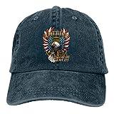 Denim Cap American Eagle Baseball Dad Cap Classic Adjustable Casual Sports for Men Women Hat