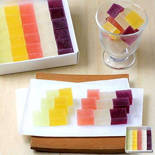 ホワイトデー ギフト 桃の節句 フルーツ琥珀 果乃菓(かのか) 30個入 (1セット)琥珀糖