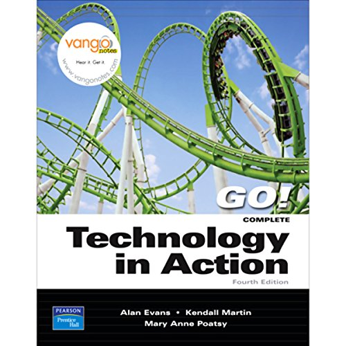 VangoNotes for Tecnologia en Accion, 4/e audiobook cover art
