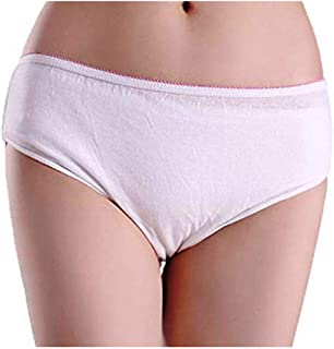 Jeoga® 10 Pieces Per Pack -.Disposable Panty for Women, Men Boys, Girls (Unisex) Travelling/Spa/Body Massage/Surgeries/Mat...