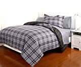 Dovedote 7 Piece Reversible Comforter and Matching...