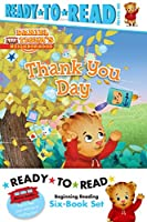 Daniel Tiger Ready-to-Read Value Pack: Thank You Day; Friends Help Each Other; Daniel Plays Ball; Daniel Goes Out for Dinner; Daniel Feels Left Out; Daniel Visits the Library (Daniel Tiger's Neighborhood)