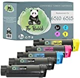 The Bubbli Originale | Toner Compatibile per XEROX Phaser 6510 6510DN 6510N WorkCentre 6515 6515DN 6515DNI 6515DNW 6515N 6515NW (5 KIT)