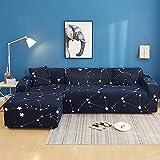 AjAsh7 Housse Canapé Salon Couverture,(1/2/3/4 Places) canapé d'angle Moderne...
