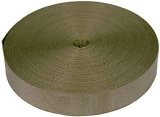1 Inch Khaki Tan Nylon Binding Closeout, 25 Yards