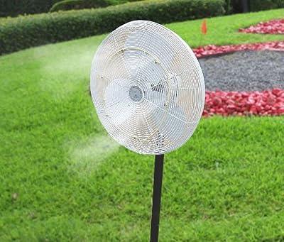 mistcooling Outdoor Low Pressure Fan Mist Kit (9'' Dia - 2 Nozzles)
