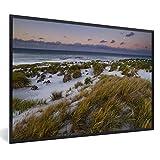 Poster mit Rahmen Falkland-Inseln - Sonnenuntergang an der