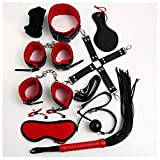 10PCS / set Kit de juguete de cuero para parejas Mujeres