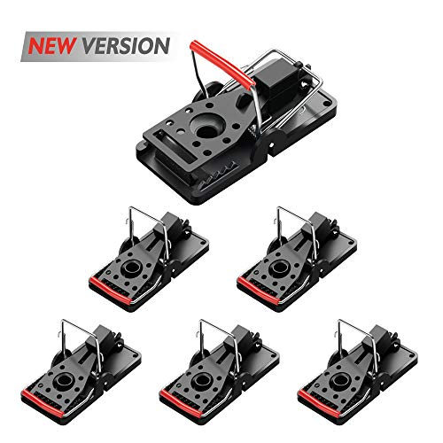 Acmind Mouse Trap, Mouse Traps Quick Kill That Work, Best for Small Mice, Safe and Effective Indoor Mouse Catcher - 6 Pack