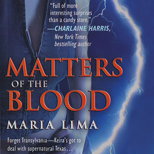 Matters of the Blood (Blood Lines, Book 1)                   By:                                                                                                                                 Maria Lima                               Narrated by:                                                                                                                                 Maria Lima                      Length: 10 hrs and 48 mins     24 ratings     Overall 3.3
