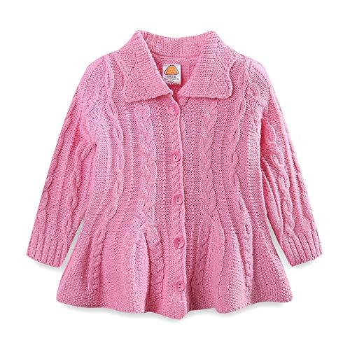 Mud Kingdom Girls Cardigan Sweaters Button Up Pink Size 6