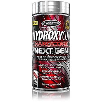 Weight Loss Pills for Women & Men   Hydroxycut Hardcore Next Gen   Weight Loss Supplement Pills   Energy Pills   Metabolism Booster for Weight Loss   Weightloss & Energy Supplements   180 Pills