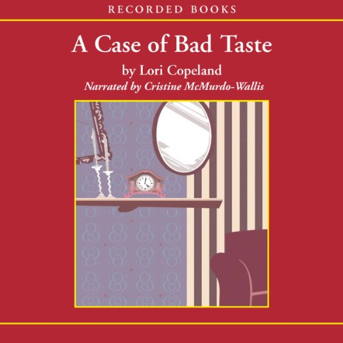 A Case of Bad Taste audiobook cover art