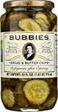 Bubbies Pickle Bread & Butter Chips 33 Oz (Pack of 1)
