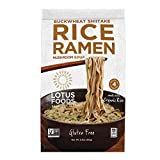 Lotus Foods Gourmet Buckwheat Mushroom Brown Rice Ramen and Mushroom Soup, Gluten-Free, 2.8 Oz (Pack Of 10)