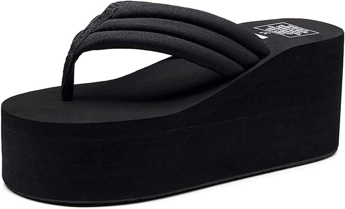 CHLDDHC Now on sale Women's Platform Wedge Sandals Surprise price Lightwe Summer Flops Flip