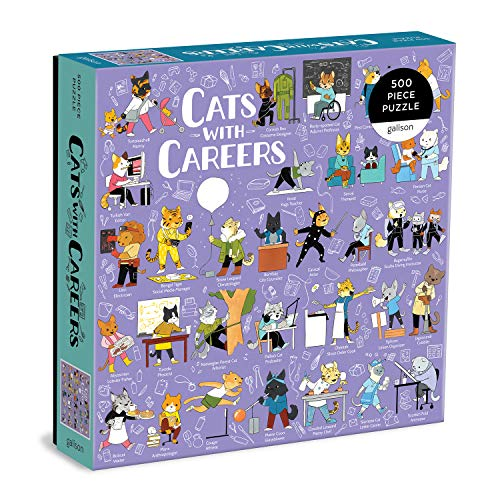 Cats with Career: 500 Piece Puzzle