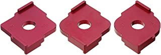 Set of 3 Radius Jig Router Templates Aluminium Alloy Radius Corners R5 R10 R15 R20 R25 R30