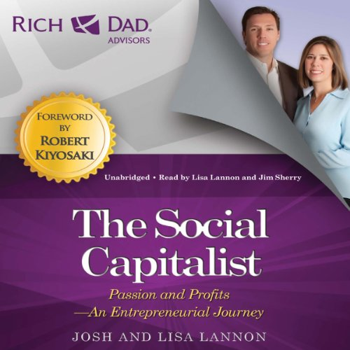 Rich Dad Advisors: The Social Capitalist audiobook cover art
