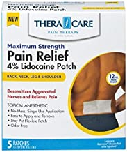 THERA CARE LIDOCAINE PAIN RELIEF MAXIMUM STRENGTH PATCHES 5 COUNT