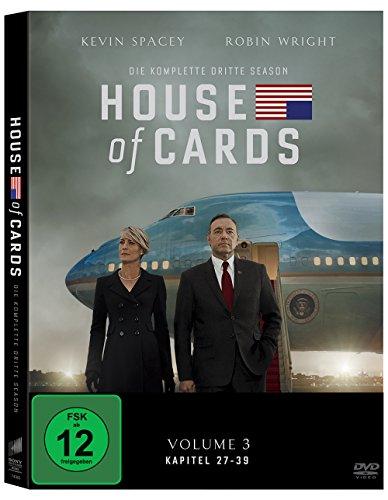 House of Cards - Die komplette dritte Season [4 DVDs]