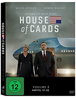 House of Cards - Die komplette dritte Season [4 DVDs] (B00TZZQ3TS) | Amazon price tracker / tracking, Amazon price history charts, Amazon price watches, Amazon price drop alerts