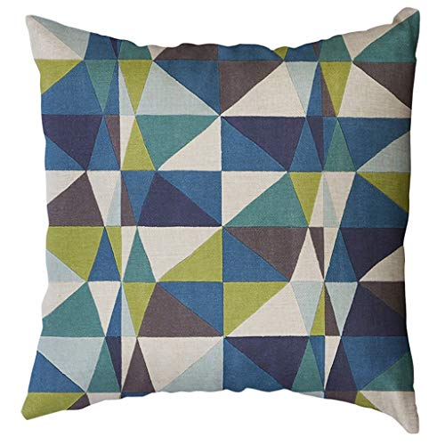 OPAKY Unregelmäßiges geometrisches Muster Kissenbezug Kissenbezug 50x50cm