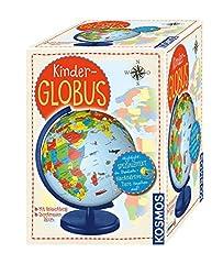 KOSMOS 673024 Barnens jordklot, från 5 år, med belysning, diameter 26 cm, pedagogiska leksaker för barn och dekoration för barnrummet