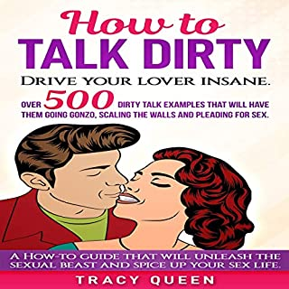 How to Talk Dirty: Over 500 Dirty Talk Examples That Will Have Them Going Gonzo, Scaling the Walls and Pleading for Sex audiobook cover art