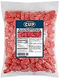 By The Cup Unbearably HOT Cinnamon Gummy Bears Bulk Candy, 1 Pound Bag