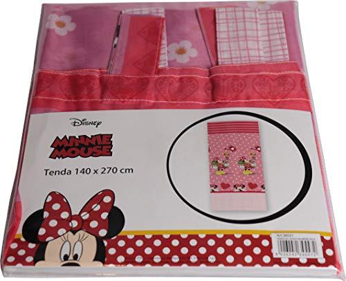 Tenda Disney Cameretta 140 x 270 m Mickey - Topolino - Minnie - Topolina - Frozen (Minnie - Topolina)