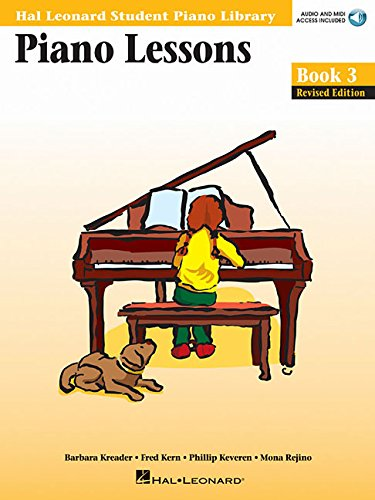 Piano Lessons Book 3 - Book/Online Audio & MIDI Access Included: Hal Leonard Student Piano Library