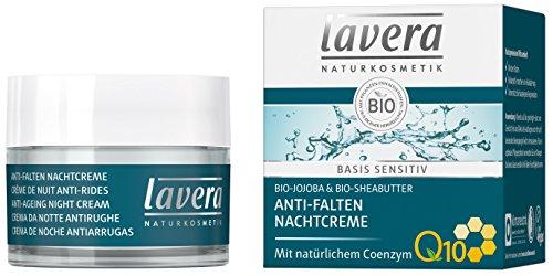 Lavera: Bases Sensitiv Anti-Falten Nachtcreme Q 10