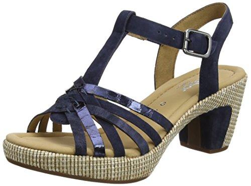 Gabor Shoes Gabor Shoes Damen Comfort Plateau, Blau (Ocean (ba.st) 46), 38.5 EU