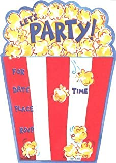 Best popcorn party invitations Reviews