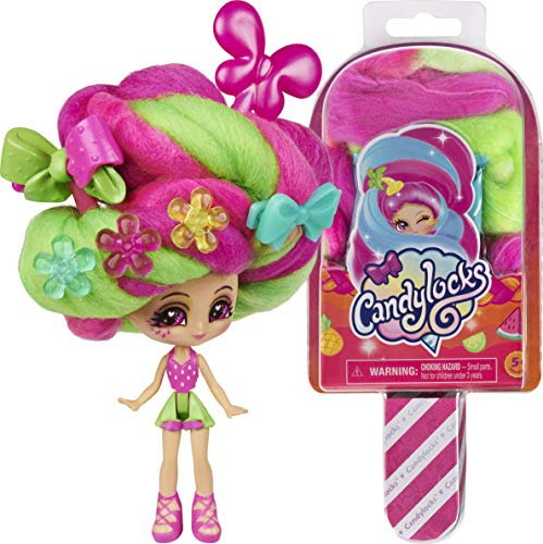Candylocks 3-Inch Scented Collectible Surprise Doll with Accessories (Style May Vary)