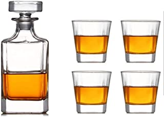 Decanter Whisky Decanter Wine Carafe Carafe Decanter Vin Set de Verre Whisky Verre Verre Vin Verre Verre Verre Verre Europ...