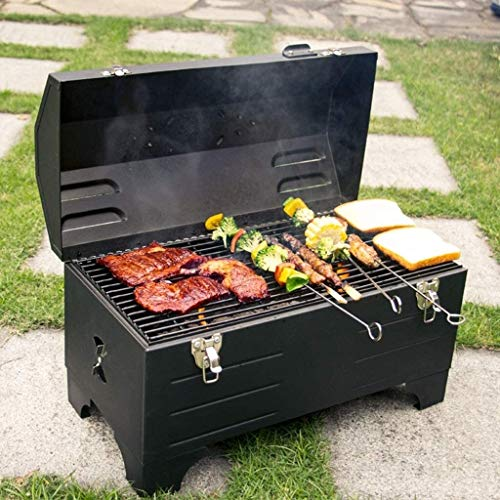 Fantastic Prices! DJDLLZY Portable Car Oven, Charcoal Barbecue Car Outdoor Barbecue Camping Oven Hom...