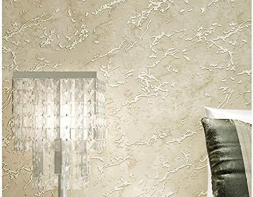 WAFJJ Carta da parati modernaFiore rurale della vite-Beige-1 classica carta da parati a righe moderno minimalista non tessuto a strisce verticali TV sfondo muro soggiornoDimensioni: 0.53 m X 10 m